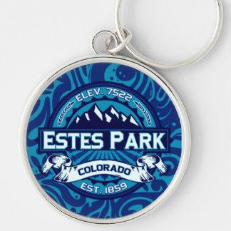Estes Park Color Logo Keychain