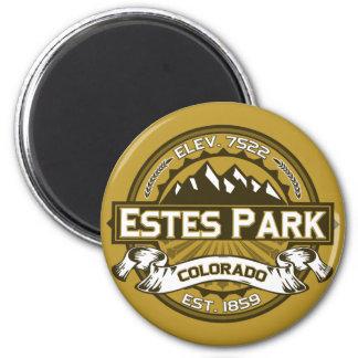 Estes Park Color Logo Magnet Refrigerator Magnets