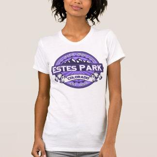 Estes Park Color Logo Violet T Shirt