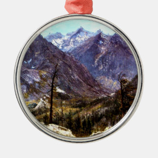 Estes Park, Colorado - Albert Bierstadt artwork Christmas Ornament