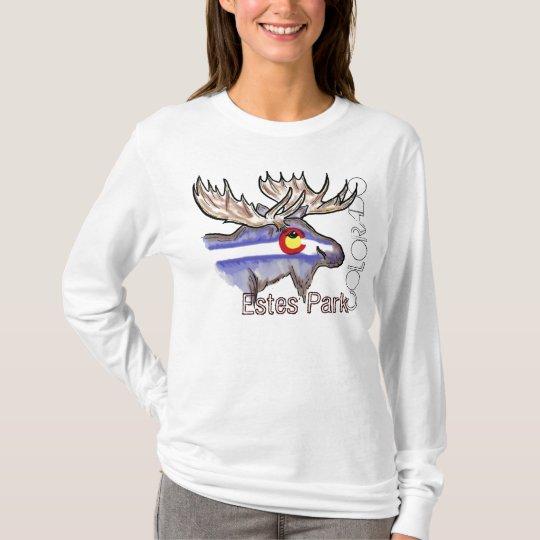 Estes Park Colorado elk hoodie