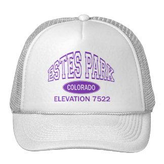 Estes Park, Colorado Mesh Hats