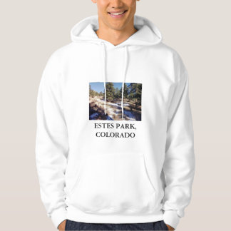 Estes Park, Colorado hooded sweatshirt