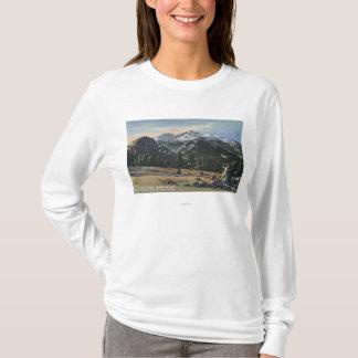 Estes Park, Colorado - Longs Peak View T-Shirt