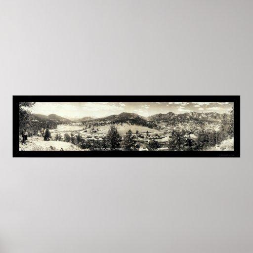 Estes Park, Colorado Photo 1940 Poster