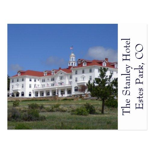 Estes Park Colorado Stanley Hotel Postcard Postcard