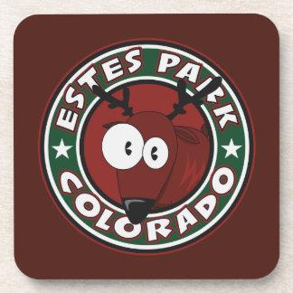 Estes Park Elk Circle Coasters