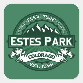Estes Park Forest Square Sticker