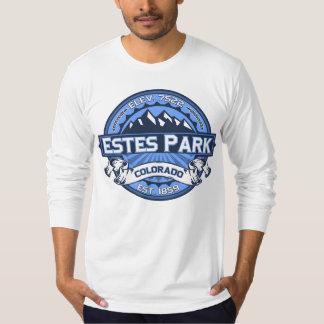 Estes Park Logo Blue T-shirts