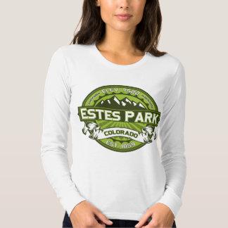 Estes Park Logo Green T Shirts