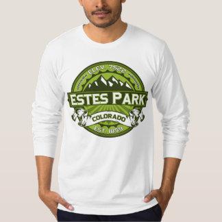 Estes Park Logo Green Tshirts
