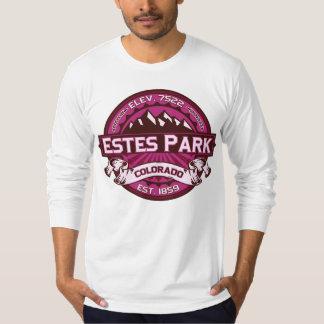 Estes Park  Logo Raspberry T Shirts