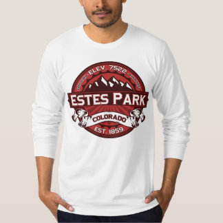 Estes Park Logo Red T-Shirt