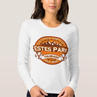 Estes Park Logo Tangerine Tshirt