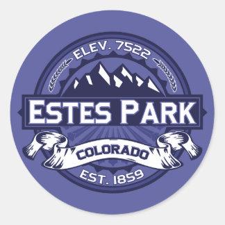Estes Park Midnight Classic Round Sticker