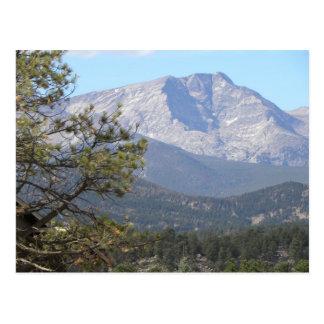 Estes Park mountain view Postcard