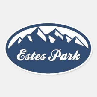 Estes Park Oval Stickers