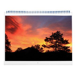 Estes Park Sunrise/Sunset 2015 Calendar