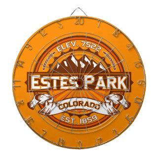 Estes Park Tangerine Dartboard