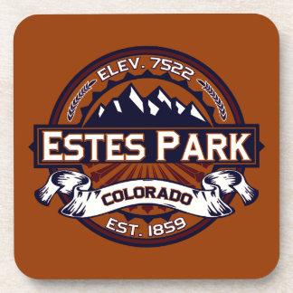 Estes Park Vibrant Beverage Coasters