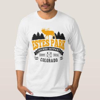 Estes Park Vintage Gold T Shirt