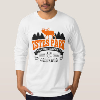 Estes Park Vintage Orange Shirt
