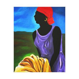 Esther 2008 canvas print