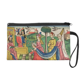 Esther 2 15-18, Esther is chosen to be Queen by th Wristlet Clutch