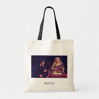 Esther And Mordecai By De Gelder Aert Budget Tote Bag
