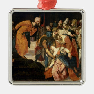 Esther before Ahasuerus, 1548 Christmas Ornament