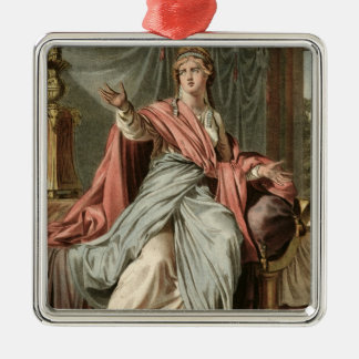 Esther, costume for 'Esther' by Jean Racine, from Christmas Ornament
