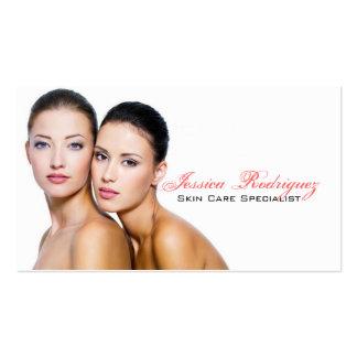 Esthetician Beauty Skincare business cards