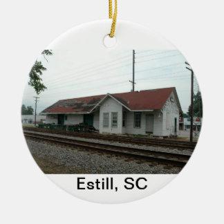 Estill Depot Christmas Ornament