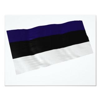estonia 11 cm x 14 cm invitation card