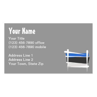 Estonia Brush Flag Pack Of Standard Business Cards