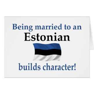 Estonia Builds Character Card