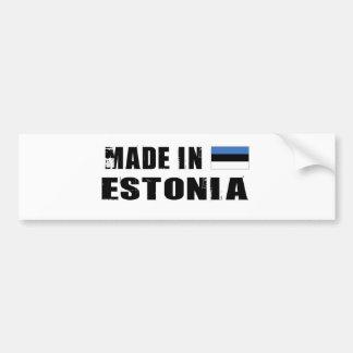 ESTONIA BUMPER STICKER