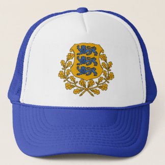 Estonia Coat of arms EE Trucker Hat