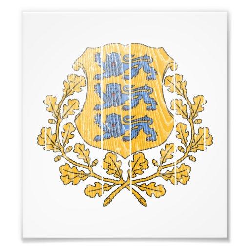 Estonia Coat Of Arms Photo Art