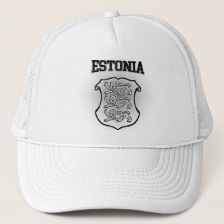 Estonia Coat of Arms Trucker Hat
