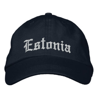 Estonia Customize Hat Embroidered Hat