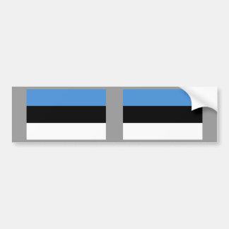Estonia Flag Bumper Sticker