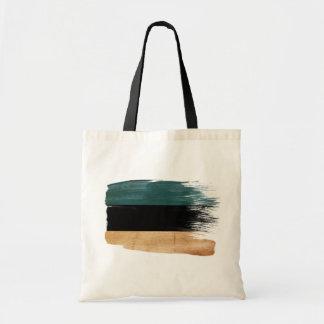 Estonia Flag Canvas Bags