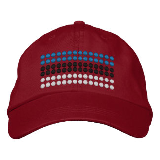 Estonia Flag Embroidered Hat