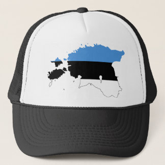 Estonia Flag map EE Trucker Hat