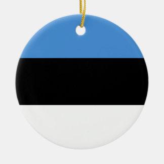 Estonia Flag Ornament