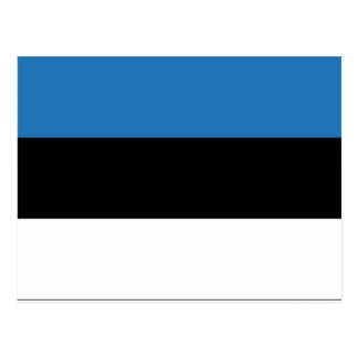 Estonia Flag Postcard