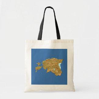 Estonia Map Bag