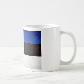 Estonia National Flag Basic White Mug