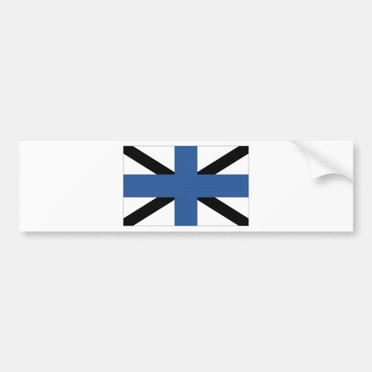 Estonia Naval Jack Bumper Sticker